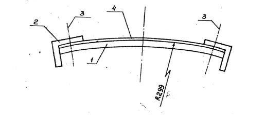 Гибочное устройство с радиусом кривизны R-299